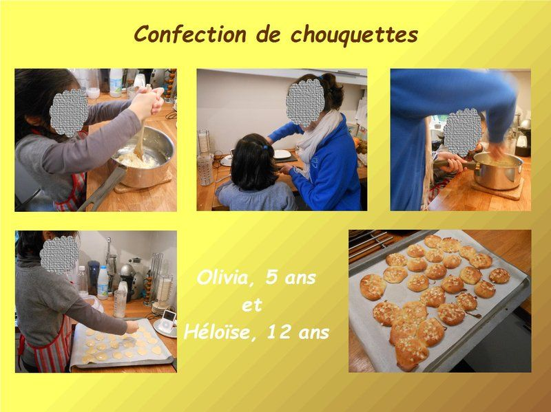 Olivia en cuisine confection de chouquettes centerblog for Confection cuisine